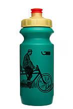 Велофляга Green Cycle Dudes on bike 0,6 green SKL35-187897