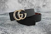 Gucci женский ремень пряжка золото 2,5 см