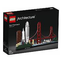 LEGO ARCHITECTURE Конструктор Сан-Франциско