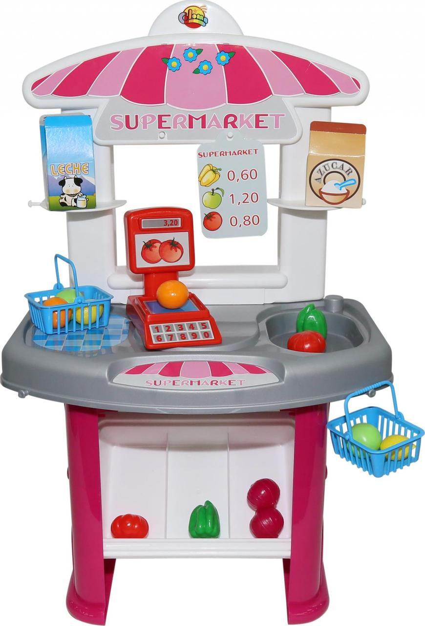 """Игровой набор """"Супермаркет"""" Полесье 53404 (в пакете)"""