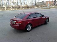 Дефлектори вікон (вітровики) Chevrolet Cruze sd 2009