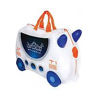 """TRUNKI Детский чемодан для путешествий """"Skye Spaceship"""""""