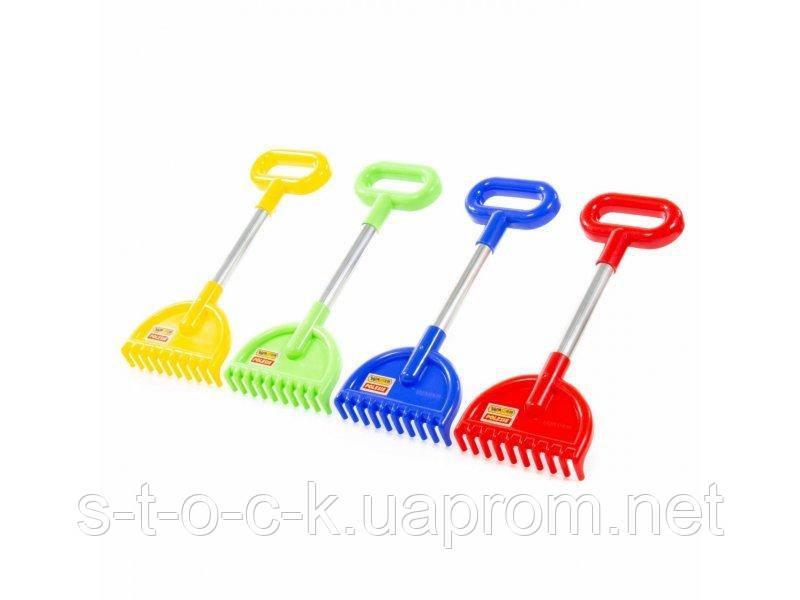 Набор игрушек для песочницы Полесье Грабли №20