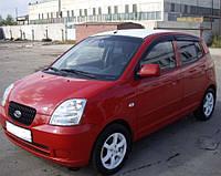 Дефлекторы окон (ветровики) KIA Picanto 2003-2005; 2006