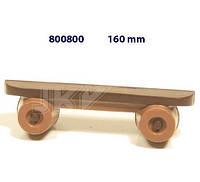 Форма для шоколада 3D — Скейтборд