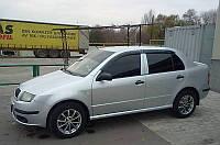 Дефлекторы окон (ветровики) Skoda Fabia I Hb 2000-2007
