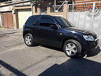 Дефлекторы окон (ветровики) Suzuki Grand Vitara (Escudo) 3d 2005-