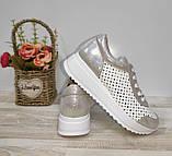 Туфли женские с перфорацией из натуральной кожи 38,40 р Foot Step., фото 5