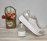Туфли женские с перфорацией из натуральной кожи 38,40 р Foot Step., фото 6