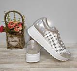 Туфли женские с перфорацией из натуральной кожи 38,40 р Foot Step., фото 7