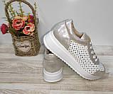 Туфли женские с перфорацией из натуральной кожи 38,40 р Foot Step., фото 9