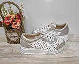 Туфли женские с перфорацией из натуральной кожи 38,40 р Foot Step., фото 10