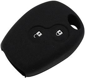 Чехол для автомобильного ключа Renault, Dacia - Black