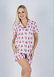 Хлопковая пижама MiaNaGreen П403 Арбузики, фото 3