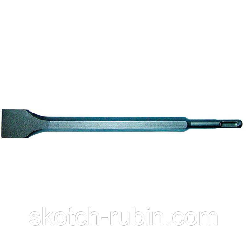 Зубило плоское с напайкой с SDS-plus хвостовиком 19х600х40мм Sigma (1800351)