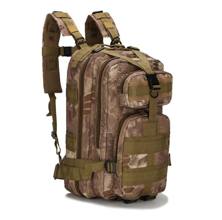 Рюкзак тактический Tactical Pro штурмовой охота рыбалка 25 л Kryptek Nomad кочевник