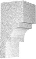 Архитектурный фасадный декор из пенопласта. Карниз К-11