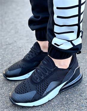 Кроссовки кросівки комфорт чорного кольору 36-43 розміри, фото 2