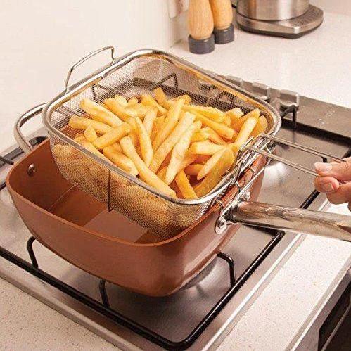 Сковородка фритюрница UNIQUE 24 см