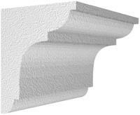 Архитектурный фасадный декор из пенопласта. Карниз К-15