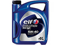 Моторное масло Elf Evolution 900 NF 5W40 4литра