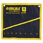 Чехол для гаечных ключей 8шт Sigma (6011041)