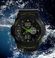 Мужские спортивные часы sport SKMEI Durable Зеленые, фото 1