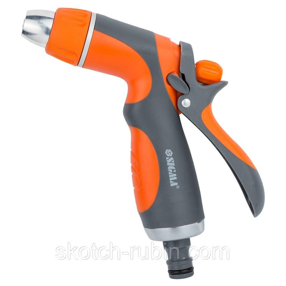 Пистолет распылитель 2-х режимный (ABS+AL+TPR) FLORA (5011414)