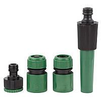 Набор для полива: насадка распылитель 2-х режимная 2 коннектора+адаптер Grad (5012605), фото 1