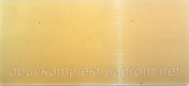 Полиуретан обувной 290*130*6 мм бежевый рифленный Собственного производства - ОбувьСпецКомплект в Полтаве