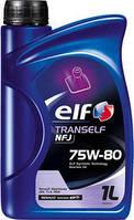 Масло для механических КПП Elf Tranself NFJ 75W80 1литр