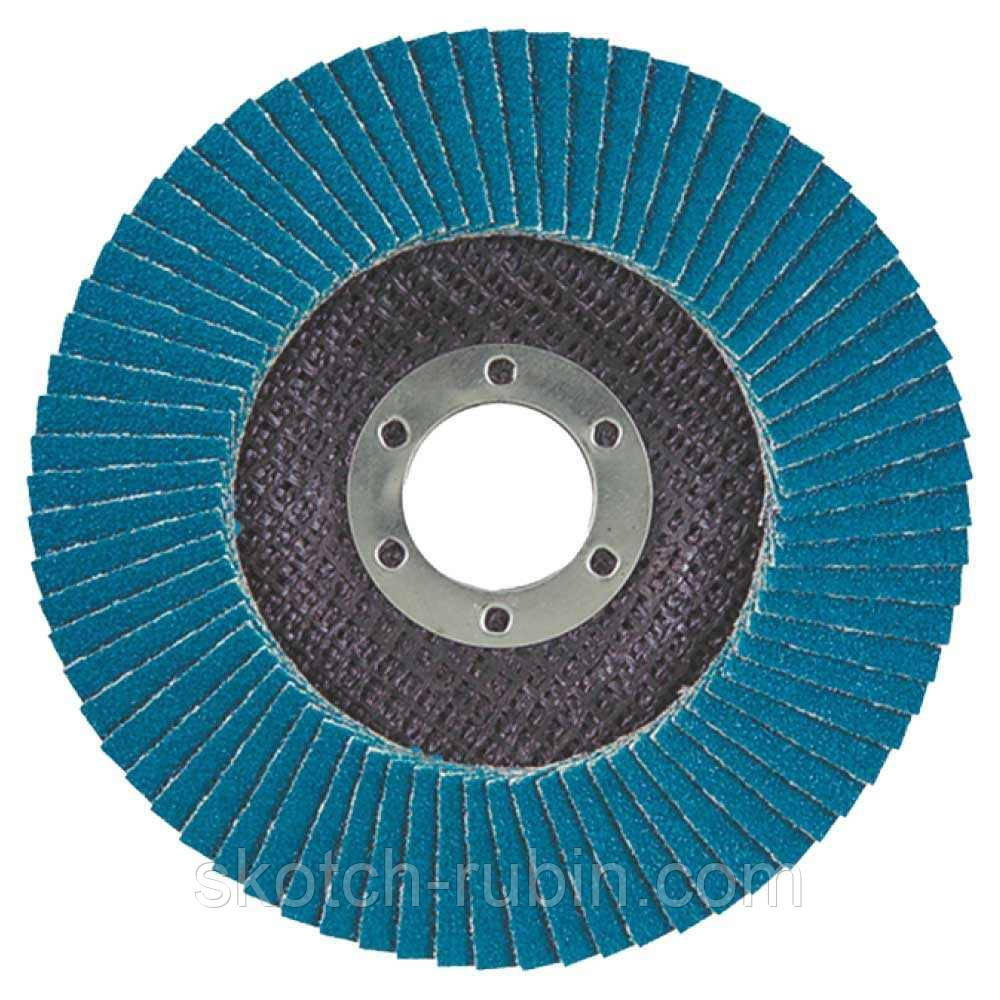 Круг лепестковый торцевой Т27 (прямой) ZA Ø125мм P60 Sigma (9173031)