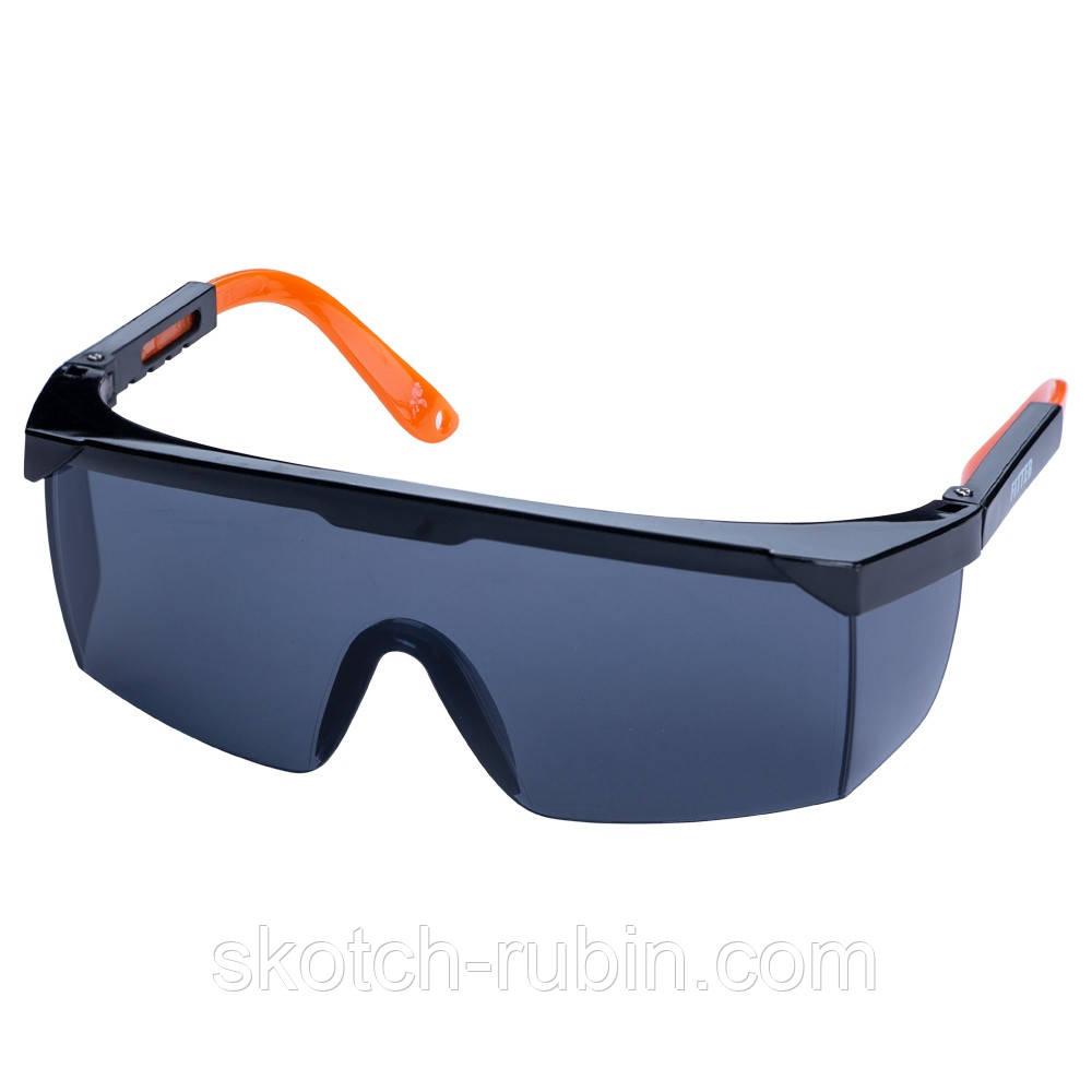 Очки защитные Fitter anti-scratch, anti-fog (затемненные) Sigma (9410281)
