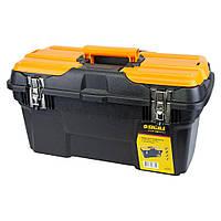 Ящик для инструмента (металлические замки) 494×263×250мм Sigma (7403671), фото 1