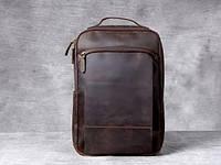 Мужской  рюкзак (натуральная кожа) Модель DM-29, фото 7