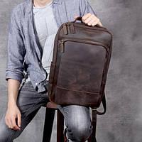 Мужской  рюкзак (натуральная кожа) Модель DM-29, фото 2