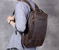 Мужской  рюкзак (натуральная кожа) Модель DM-29, фото 3
