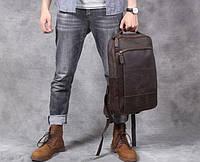 Мужской  рюкзак (натуральная кожа) Модель DM-29, фото 5