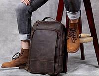 Мужской  рюкзак (натуральная кожа) Модель DM-29, фото 9