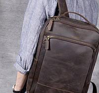 Мужской  рюкзак (натуральная кожа) Модель DM-29, фото 6