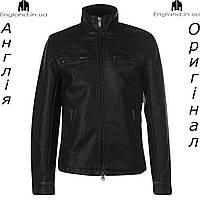 Размер XL (наш 52й) Акция ! Куртка кожаная PU мужская Firetrap из Англии - демисезонная