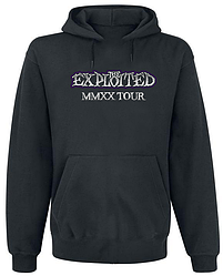 Толстовка без молнии The Exploited - MMXX Tour (чёрная)