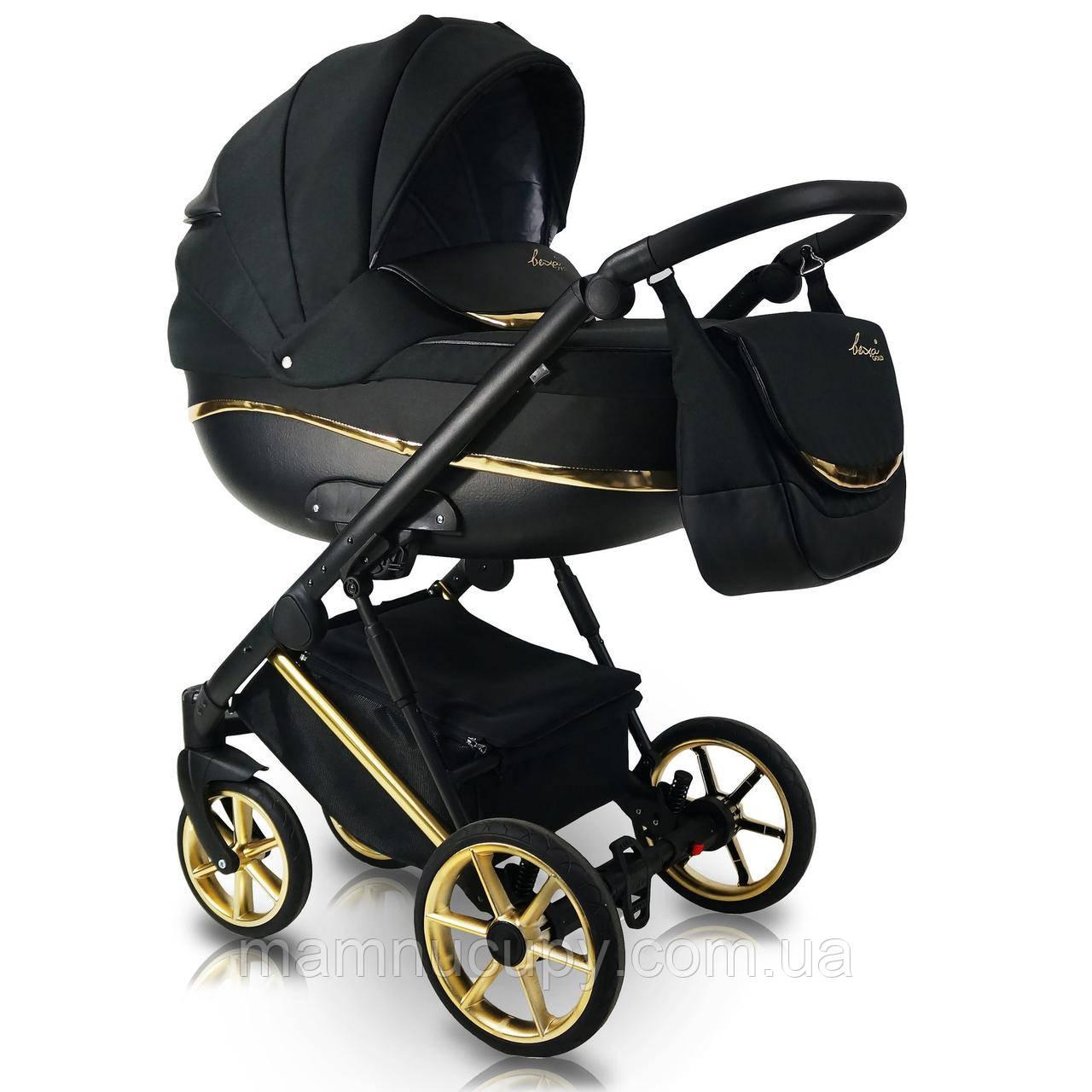 Детская универсальная коляска 2 в 1 Bexa Next Gold N1 (некст голд)