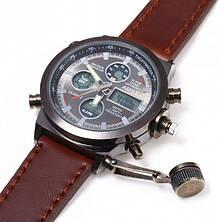 Мужские часы AMST Коричневые, фото 2