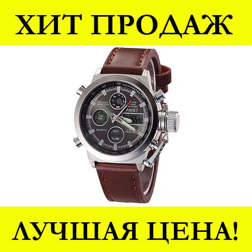 Мужские часы AMST Коричневые