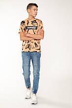 Демисезонные детские джинсы для мальчика Young Reporter Польша 201-0110B-11-001-1 Голубой