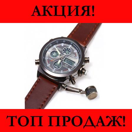 Мужские часы AMST Коричневые- Новинка, фото 2