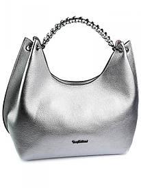Жіноча сумка 0358.1036 серебристая