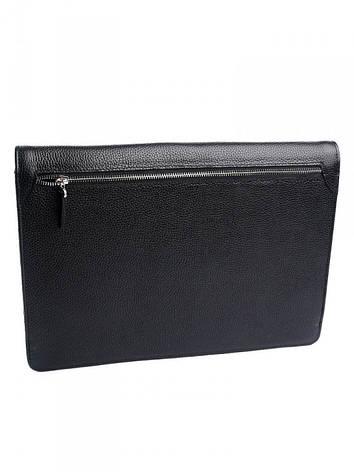 Кожаная папка для документов Case 1017.281 черная, фото 2