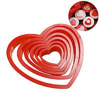 Набор катеров Сердечки 6 шт, фото 1